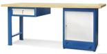 00853691 Stół warsztatowy, 1 drzwi, 1 szuflada (wymiary: 2100x900x740 mm)