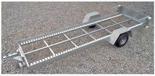 02938387 Wózek sadowniczy samorozładowczy WS-3SR, wersja: ocynkowana (ładowność: 1200 kg)