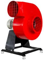 08549404 Wentylator promieniowy stacjonarny z ramą amortyzującą i z ramą amortyzującą WPA-3-E-1-N-S 230V (obroty synchroniczne: 3000 1/min, moc: 0,37 kW, wydajność wentylatora: 1160 m3/h)