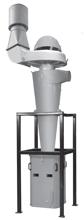 08549630 Odpylacz cyklonowy z wentylatorem STORM-2000-H (pojemność pojemnika na odpady: 330 dm3, moc: 4 kW, wydajność: 3500 m3/h)