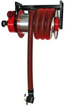 08549676 Odsysacz spalin, bęben odsysacza z napędem elektrycznym, zestawem wężowym, zespołem elektrycznym - bez ssawki, wentylatora ALAN-U/E-12 (długość węża: 12m, średnica: 125mm)