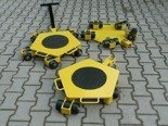 12258866 Wózek rotacyjny stały, rolki: 12x nylon (nośność: 4 T)