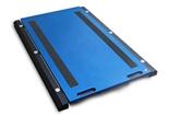 38554970 Waga podkładkowa z przewodowym miernikiem wagowym, z legalizacją (udźwig: 10000 kg, podziałka: 5 kg, wymiary: 400x500 mm)