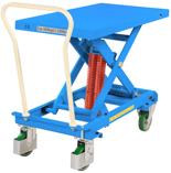 39955555 Wózek platformowy nierdzewny nożycowy ze sprężyną (wymiary: 1191x520mm, udźwig: 600 kg)