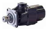 72355225 Pompa hydrauliczna tłoczkowa prosta do wywrotu - lewy i prawy kierunek obrotów (objętość geometryczna: 21 cm3/obr, zakres obr: 300-1800, maks. ciśnienie pracy ciągłej: 35 MPa)