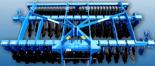 95247990 Ciężka brona ścierniskowa U 671, wersja półzawieszana, składana hydraulicznie (szerokość robocza: 5 m, liczba talerzy: 40, zapotrzebowanie mocy: 200 KM)