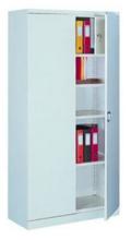 99551657 Szafa biurowa 0,7mm, 2 drzwi, 4 półki, skrytka (wymiary: 1990x1000x435 mm)