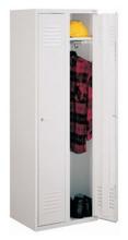 99552169 Szafka ubraniowa 0,8mm, zamek ryglujący drzwi w 3 punktach, 2 drzwi (wymiary: 1800x800x490 mm)