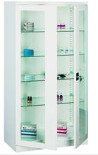 99552552 Szafa lekarska, 4 półki, 2 drzwi (wymiary: 1800x1000x435 mm)