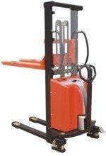 DOSTAWA GRATIS! 00568964 Wózek podnośnikowy półelektryczny (udźwig: 1500 kg, min./max. wysokość wideł: 85/1600 mm)