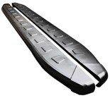 DOSTAWA GRATIS! 01665034 Stopnie boczne, czarne - Fiat 500L (długość: 171 cm)
