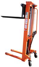 DOSTAWA GRATIS! 13362105 Wózek podnośnikowy masztowy z regulowanym rozstawem wideł (udźwig: 1000 kg, wysokość podnoszenia: 90-1600mm)