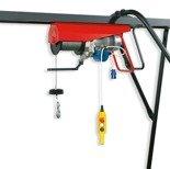 DOSTAWA GRATIS! 55564734 Wciągarka linowa budowlana elektryczna ze zdalnym sterowaniem (udźwig: 500 kg, długość liny: 25m)