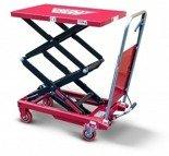 DOSTAWA GRATIS! 62666894 Wózek platformowy nożycowy (udźwig: 350 kg, wymiary platformy: 910x500 mm)