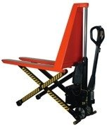 DOSTAWA GRATIS! 00568980 Wózek paletowy nożycowy (udźwig: 1000 kg, min./max. wysokość wideł: 85/800 mm)