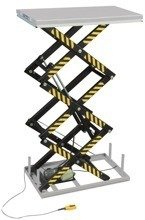 DOSTAWA GRATIS! 3109778 Stacjonarny stół podnośny HT1000 (wymiary platformy: 1600x1000 mm, udźwig: 1000 kg, wysokość podnoszenia min/max: 470-3000 mm)