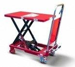 DOSTAWA GRATIS! 62666889 Wózek platformowy nożycowy (udźwig: 150 kg, wymiary platformy: 740x450 mm)