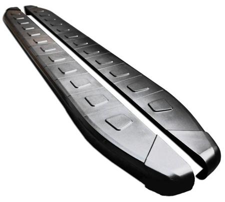 01655934 Stopnie boczne, czarne - Mazda CX-7 (długość: 171-182 cm)