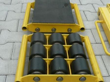 12235596 Wózek stały 9 rolkowy, rolki: 9x nylon (nośność: 6 T)