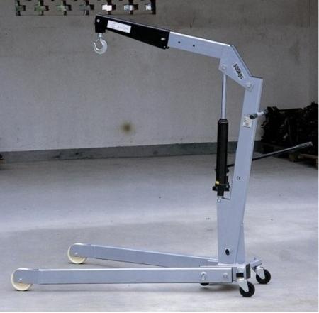 DOSTAWA GRATIS! 310668 Żurawik warsztatowy składany (udźwig: 1000 kg)