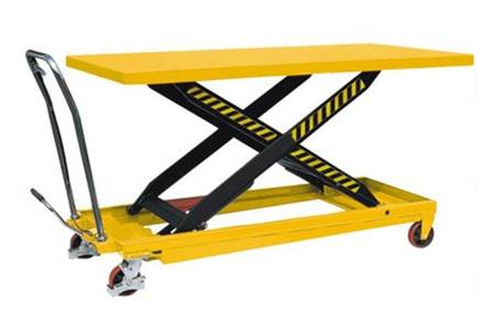DOSTAWA GRATIS! 00563276 Wózek paletowy stołowy (udźwig: 1000 kg, wymiary platformy: 2035x750 mm, wysokość podnoszenia min/max: 360-1360 mm)