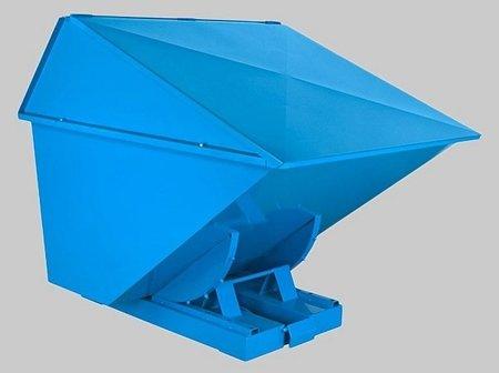 DOSTAWA GRATIS! 35960467 Kontener samowyładowczy z wysoką pokrywą do wózka widłowego (metry sześcienne: 2,2 m3, pojemność: 1700 L)