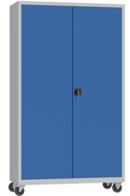 00150601 Szafa biurowa na kółkach, 2 drzwi (wymiary: 1950 + koła x1200x500 mm)