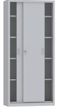 00150803 Szafa przesuwna, 4 półki (wymiary: 1950x900x600 mm)