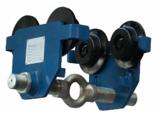 33966534 Wózek do podwieszania i przesuwania wciągników po dwuteowniku POT 3L (udźwig: 3 T, szerokość profilu: 160-305 mm)
