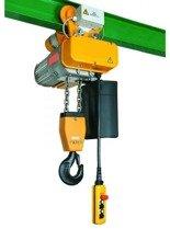 95868900 Wciągnik elektryczny łańcuchowy stacjonarny 400V bez wózka (udźwig: 150/250kg, wysokość podnoszenia: 18m)