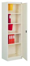 99551653 Szafa biurowa 0,7mm, 1 drzwi, 4 półki (wymiary: 1990x600x435 mm)