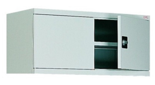 99551708 Nadstawka do szaf biurowych 1,0mm, 2 drzwi, 1 półka (wymiary: 465x1200x435 mm)