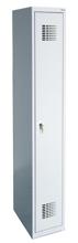 99551923 Szafka ubraniowa 0,5mm, 1 drzwi, zamek cylindryczny zamykany w 3 punktach (wymiary: 1800x300x500 mm)