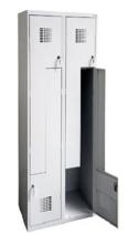 99551994 Szafka ubraniowa 0,8mm, 4 drzwi w kształcie L (wymiary: 1800x600x500 mm)