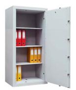 99552672 Sejf gabinetowy dwupłaszczowy I klasy, 3 półki, 1 drzwi (wymiary: 1600x700x520 mm)