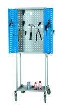 99724947 Wózek. szafka stalowa narzędziowa GermanTech (wymiary: 1800x600x400 mm)