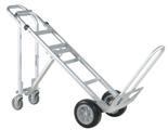99746701 Wózek taczkowy do transportu, aluminiowy GermanTech (udźwig: 250/350 kg)