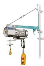 DOSTAWA GRATIS! 05668338 Wciągarka linowa budowlana (udźwig: 200 kg, wysokość podnoszenia: 30 m)