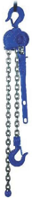 DOSTAWA GRATIS! 22038944 Wciągnik dźwigniowy, rukcug z łańcuchem ogniwowym RZC/0.8t (wysokość podnoszenia: 7,5m, udźwig: 0,8 T)