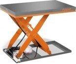 DOSTAWA GRATIS! 32240150 Hydrauliczny nożycowy stół podnośny Unicraft (udźwig: 1000 kg, wymiary platformy: 1300x800 mm, wysokość podnoszenia min/max: 190/1010 mm)