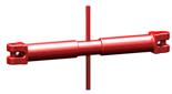 DOSTAWA GRATIS! 33916832 Napinacz łańcuchowy widełkowy KSS 13 (udźwig: 5,3 T, długość rozciągnięcia: 280 mm)