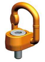 DOSTAWA GRATIS! 33948558 Śruba z uchem obrotowo-uchylnym PLAW 20t M48 (udźwig: 20 T, gwint: M48)