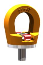 DOSTAWA GRATIS! 33948563 Śruba z uchem obrotowym PLGW 12t M48 (udźwig: 12 T, gwint: M48)