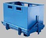 DOSTAWA GRATIS! 35960460 Kontener z otwieranym dnem do wózka widłowego (pojemność: 1800 L)