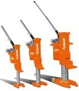 DOSTAWA GRATIS! 44340220 Hydrauliczny podnośnik maszynowy, Unicraft (udźwig: 10 t)