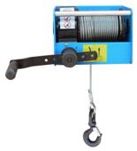 DOSTAWA GRATIS! 44929814 Ręczny wciągnik linowy z przekładnią ślimakową Tractel® CAROL™ TS1000 (bez liny, udźwig: 1000 kg)
