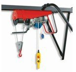 DOSTAWA GRATIS! 55547216 Wciągarka budowlana linowa elektryczna + zdalne sterowanie z niskim napięciem (udźwig: 500 kg, długość liny: 25m)
