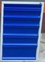 DOSTAWA GRATIS! 77157002 Szafka do stołu warsztatowego, 6 szuflad (wymiary: 665x580x600 mm)