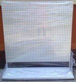 DOSTAWA GRATIS! 77157007 Regał perforowany pod zawieszki (wymiary: 1600x1500x400 mm)