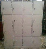 DOSTAWA GRATIS! 77157135 Szafa skrytkowa, 16 drzwi (wymiary: 2000x1600x500 mm)
